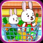Anime Bunny: Kids supermarket