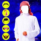 Arab Man Photo Editor : Suit, Hair, Moustache