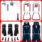 Basketball jersey design idea