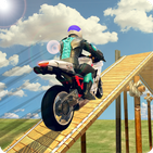 Bike Stunt Racing Master Impossible 3D Mega Ramp