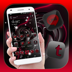 Red Black Launcher Theme