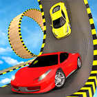 Crazy Car Sky Stunts Impossible Tracks Car Racing