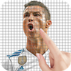Cristiano Ronaldo Color by Number - Pixel Art Game