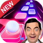 Dancing Tiles Hop : Mr. Bean Magic Piano Beat