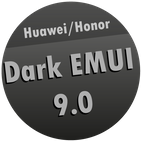 Dark EMUI 9 / 9.1 Theme for Huawei/Honor