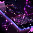Dark Purple Keyboard APK