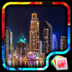 Dubai Night Live Wallpaper HD