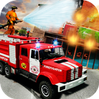 Firefighter Games: Fire Brigade Rescue Mission
