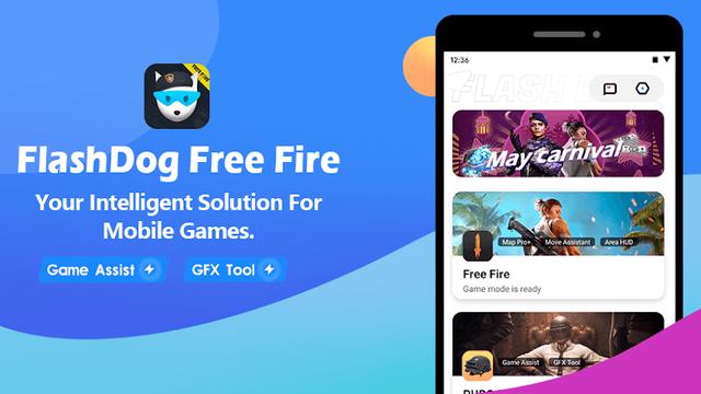 Download FlashDog Free Fire - Booster, Free Diamond, No Lag free