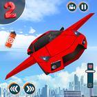 Flying Car Shooting Game : Modern Car Games 2019