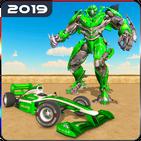 Formula Car Robot Transforming Games: Robot Wars