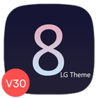 G8 Black Theme for LG V30 G6 V20 G5 Oreo