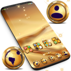 Golden Launcher Theme APK