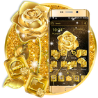 Golden Rose Launcher Theme