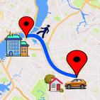 GPS Route Finder Navigation