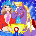 Horse Dress Up - Princess Pet Care
