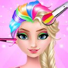 Ice Queen Rainbow Hair Salon