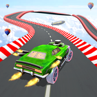 Impossible Racing Car Mountain Climb Stunt Drive