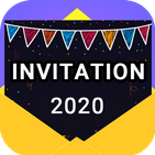 Invitation maker 2020 Free Birthday, Wedding card