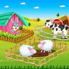Kids Animal Farm : Village Life Fun