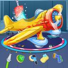Kids Plane Wash Station And Repair Garage