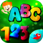 Learn English letters and numbers for children