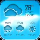 Free weather forecast app& widget