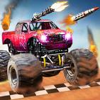 Monster Truck Death Race 2019: Car Shooting Games