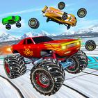Monster Truck Demolition derby: Car War Games