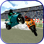 Motorway Bike Hurdle Racing: Gold Medal Podium 3D
