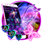 Neon ButterFly Launcher Theme