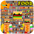 New Fast Food Skins & Cactus Mods For Craft Game