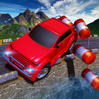 Offroad Jeep Cargo Driving Simulation
