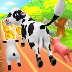 Pets Runner Game - Farm Simulator