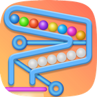Pin Puzzle - Casual Ball Painting Games