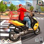 Pizza Delivery Boy Driving Simulator : Bike Games