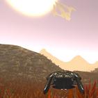 Planet explorer: space ship, rocket, drone flights