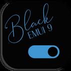 Royal Black EMUI 9.1 Theme for Huawei/Honor