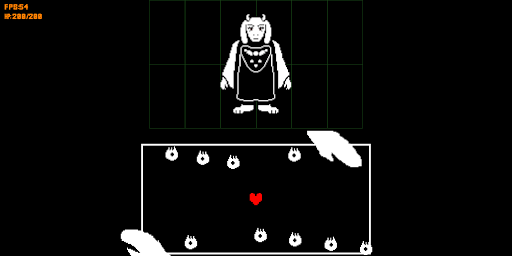 undertale boss fight