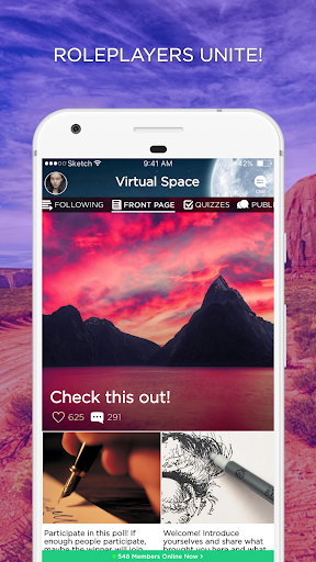 Download Virtual Space Amino Geeks Rp Free