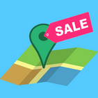 Simple Garage Sale Map