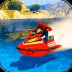 Superhero Extreme Jetski Racing and Water Race