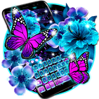 Twinkle Flower Butterfly Keyboard