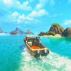 Uncharted 4 : Survival Raft Ocean