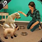 Virtual dog pet cat home adventure family pet game