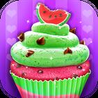 Watermelon Cupcake - Summer Desserts Maker